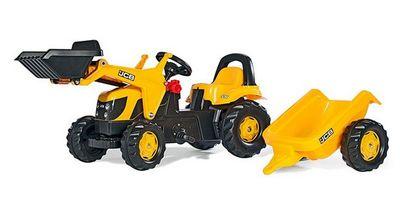 Rolly Toys 023837 Kid Fendt. Детский педальный трактор с прицепом.