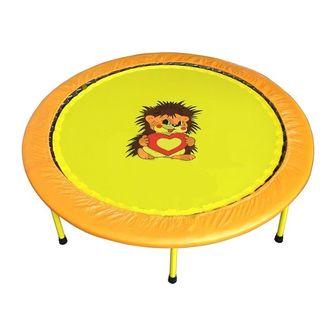"""Складной Мини-батут 54"""" диаметр 138 cм (оранжево-желтый, зелено-желтый)."""