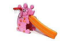 """Горка детская """"Мышка"""" PS-027 (голубая, розовая)."""