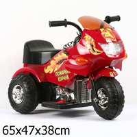 Bugati 20003M RD3. Детский электромобиль-мотоцикл Bugati 20003M RD3 КРАСН.