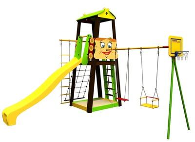 Детский спортивный комплекс (ДСК) «Карусель 102.01.00» Буратино