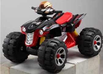 Детский квадроцикл 318 BigQuad (2 мотора)
