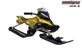 Детский снегокат Snow Moto Ski Doo MXZ-X Yellow 37009