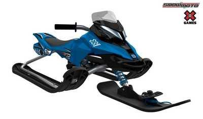 Детский снегокат Snow Moto X Games MXZ-X Blue 37012