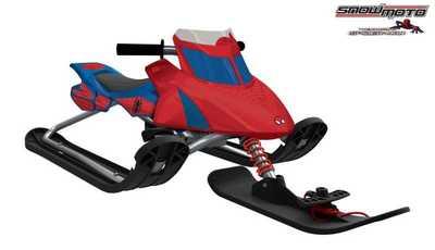 Детский снегокат Snow Moto Ultimate Spiderman 37015.