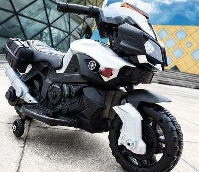 Moto JC 919. Детский мотоцикл на резиновых колесах..