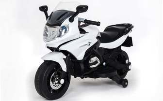 Детский электромотоцикл M444MM на резиновых колесах