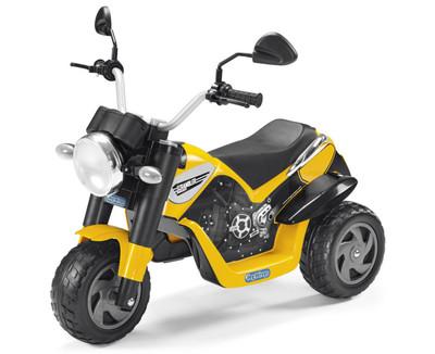 Peg-Perego Ducati Scrambler. Электромотоцикл детский на трех колесах.