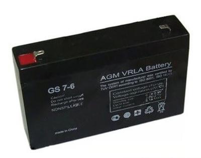 Аккумулятор 6V/7 АН