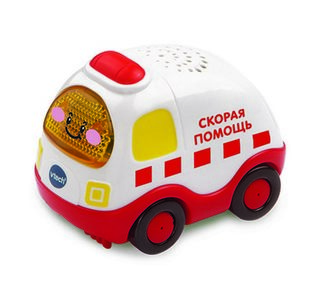 VTECH Скорая помощь Бип-Бип Toot-Toot Drivers.