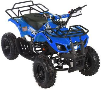 Квадроцикл детский бензиновый MOTAX ATV Х-16 Мини-Гризли с  механическим стартером