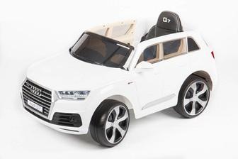 Детский электромобиль-джип AUDI Q7 QUATTRO LUX (ЛИЦЕНЗИОННАЯ МОДЕЛЬ) с дистанционным управлением