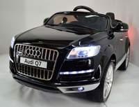 Электромобиль AUDI Q7 4.2 Qattro на резиновых колесах.