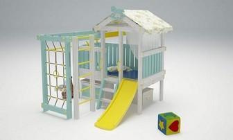 """Игровой комплекс - кровать """"Савушка Baby - 1"""""""
