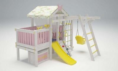 """Игровой комплекс - кровать """"Савушка Baby - 2"""""""