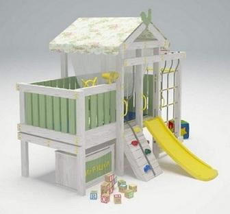 """Игровой комплекс - кровать """"Савушка Baby - 3"""""""
