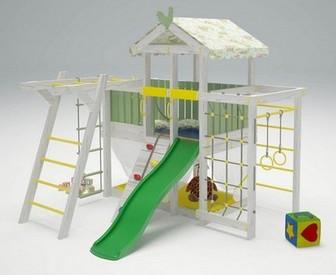 """Игровой комплекс - кровать """"Савушка Baby - 4"""""""