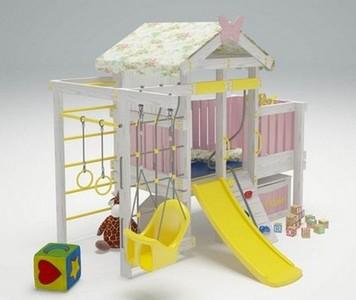 """Игровой комплекс - кровать """"Савушка Baby - 6"""""""