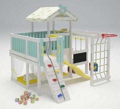 """Игровой комплекс - кровать """"Савушка Baby - 8"""""""