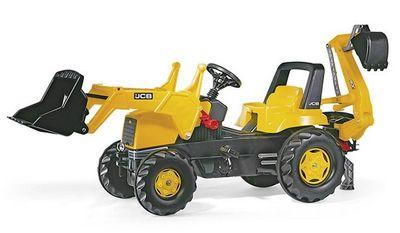 Rolly Toys Junior JCB Backhoe Loader 812004. Педальный погрузчик/экскаватор.