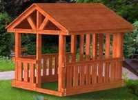 """Детская деревянная площадка Самсон """"Бали"""" ."""