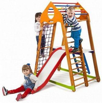 Sportwood BambinoWood Plus 2. Игровой детский комплекс.