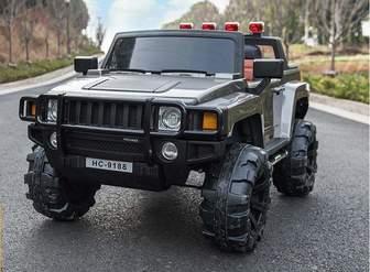 BARTY Hummer Н777МР. Двухместный детский электромобиль-джип.