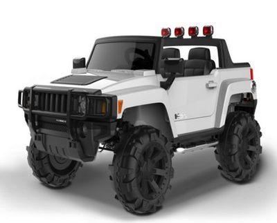 BARTY Hummer Н777МР. Двухместный детский электромобиль.