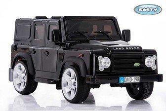 Детский электромобиль Barty Land Rover jj205 (лицензионная модель) на резиновых колесах.