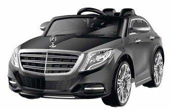 Детский электромобиль Mercedes Benz S600 (лицензионная модель) на резиновых колесах