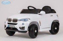 Детский джип BARTY BMW X5 VIP на резиновых колесах.