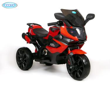 BARTY M111AA. Детский мотобайк на резиновых колесах.