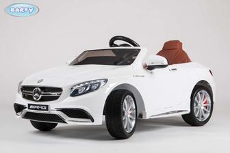 Детский электромобиль Mercedes-Benz  S63 AMG  (HL-169) на резиновых колесах