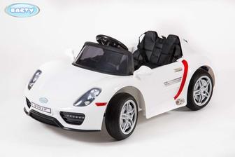 Детский электромобиль BARTY М002Р Porsche 918 Spyder (HL-1038) на резиновых колесах