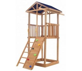 Детская площадка Можга для дачи Спортивный городок 2 (крыша тент)