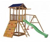 Дачная площадка Можга Спортивный  городок 5 со скалодромом для детей
