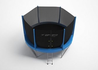 Батут OPTIFIT JUMP 12FT зеленый,синий