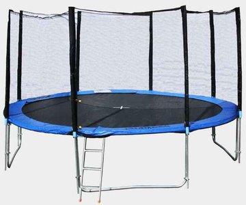 """Батут детский с защитной сеткой """"Trampoline 8"""" диаметр 2,4 м"""