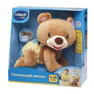 VTECH Ползающий мишка. Интерактивная игрушка.