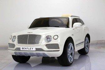 Детский электромобиль Bentley Bentayga на резиновых колесах