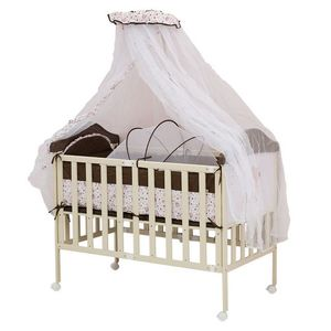 Babyhit SLEEPY Compact. Металлическая кроватка с люлькой