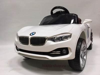Детский электромобиль BMW А001АА на резиновых колесах.