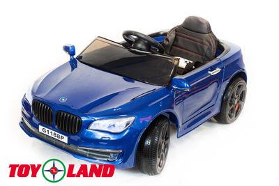 BMW 5. Детский автомобиль на резиновых колесах.