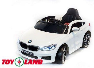 Toyland BMW 6 GT. Детский электромобиль на резиновых колесах.