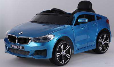 BMW 6 GT. Детский автомобиль на резиновых колесах.