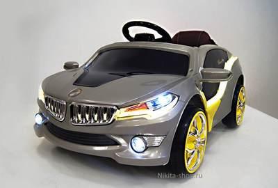 Детский автомобиль BMW О 002 ОО VIP на резиновых колесах