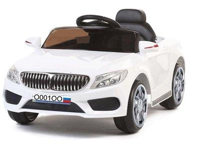 Детский электромобиль BMW Cabrio с дистанционным управлением.