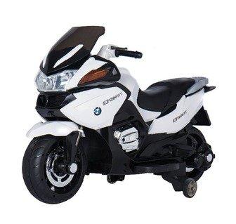 Детский электромотоцикл BMW R118 RT на резиновых колесах.