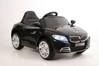 BMW T004TT. Детский автомобиль на резиновых колесах.