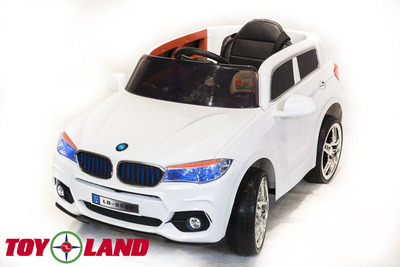 BMW X5. Детский автомобиль на резиновых колесах.